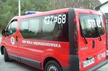 Nowy samochód w OSP Wola Mędrzechowska