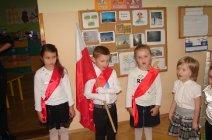 Święto Niepodległości w Przedszkolu w Grądach-3