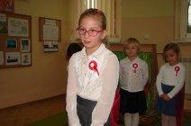 Przedszkolaki z Grądów uczcili Święto Niepodległości -12