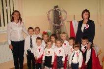 Przedszkolaki z Grądów uczcili Święto Niepodległości -22