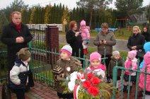 Przedszkolaki z Grądów uczcili Święto Niepodległości -23