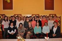 Spotkanie opłatkowe Koła Gospodyń Wiejskich w Mędrzechowie-13