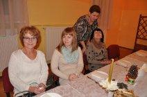Spotkanie opłatkowe Koła Gospodyń Wiejskich w Mędrzechowie-1