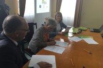 Podpisanie umów na realizację grantów ze środków unijnych.